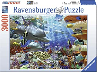 Ravensburger Oceanic Wonders 3000 Piece Jigsaw Puzzle for Adults – Softclick Technology Means Pieces Fit Together Perfectly