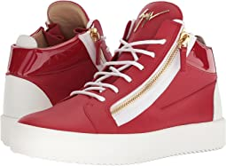 May London Birel Mid Top Sneaker