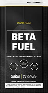 Science in Sport Beta Fuel, Endurance Energy Drink with 80g of Carbohydrates, Isotonic Sports Drink, Orange - 12 Grab and Go Sachets