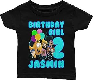 Personalize Bubble Guppies Birthday Shirt