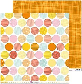 Anita y Su Mundo Collection Me Organizo Papiers de scrapbooking, papier, cercles, 30,5 x 30,5 cm