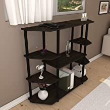 Townsville Brasilia Multipurpose Display Unit (Matte Finish, Cappuccino Oak)