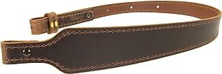 Nohma Leather BF70022_Buffalo Leather Cobra Rifle Gun Sling_Crazy Horse/Brown_Amish Handmade