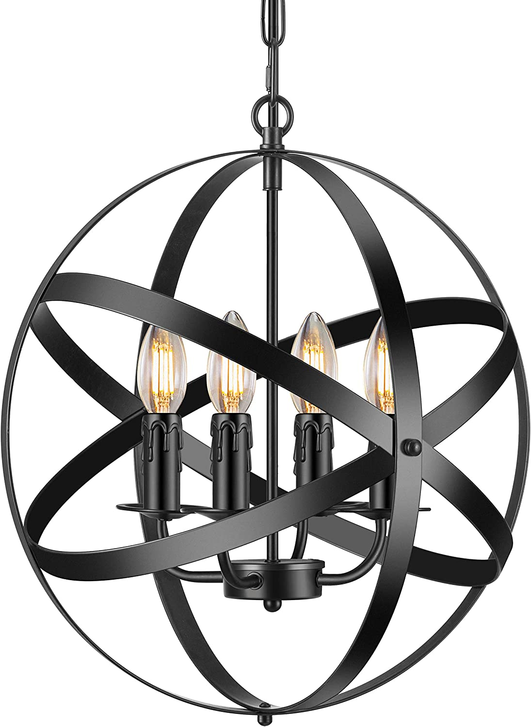 Industrial Pendant Max 88% OFF Light Topics on TV Vintage Spherical with Lighting