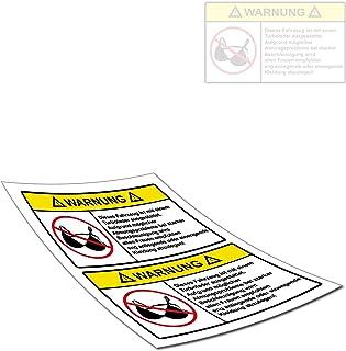 Tuning Aufkleber Autoaufkleber Frauen BH Tuningsticker | 2er Set | TOP ANGEBOT | Fun Sticker
