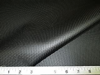 Swatch Sample Discount Fabric Marine Vinyl Outdoor Upholstery Black Pantera Diamond MA11