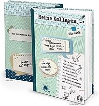 XXL kollega bok DIN A4 164 sidor - en underbar gåva för att fira dina tidigare kollegor