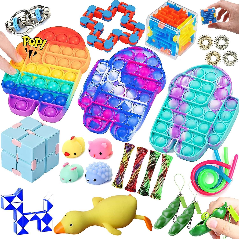 It is very popular Lrogoe Fidget Packs 27 Pack Sensory Pop Philadelphia Mall Set with Toys Bu