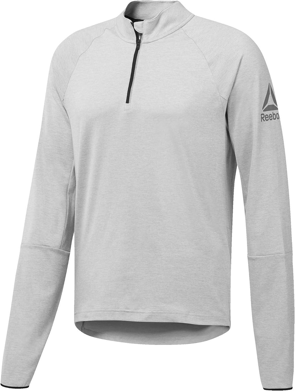 Reebok LS Quarter Zip Sweatshirt