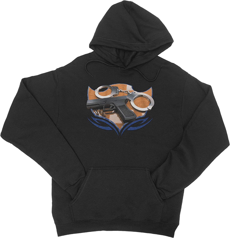 HARD EDGE Spasm price DESIGN Unisex Police Tribal Sweatshirt Direct store Layout