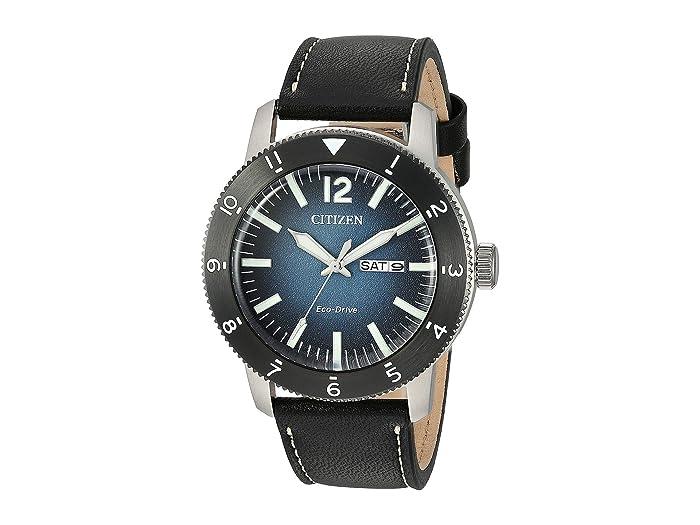 Citizen Watches  Brycen AW0078-08L (Black) Watches