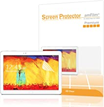 amFilm Premium HD Clear (Invisible) Screen Protectors for Samsung Galaxy Tab Pro 10.1 (2014 Edition) & Galaxy Tab Pro 10.1 (2-Pack) [in Retail Packaging]