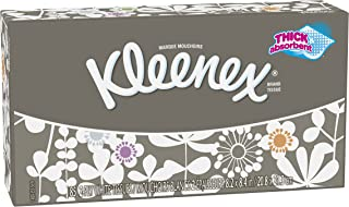 Kleenex Trusted Care Everyday Facial Tissues, Cube Box, 85 Tissues per Cube Box, 36 Pack