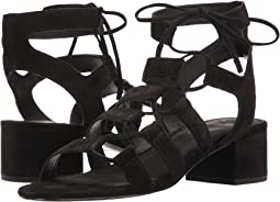 Black Soft Oiled Suede