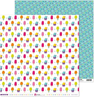 Anita y Su Mundo Collection Mis Chuches Papier de scrapbooking, papier, glaces, 30,5 x 30,5 cm