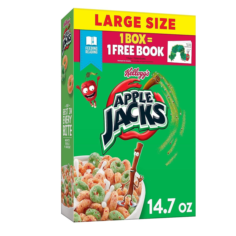 Kellogg's Apple Jacks Breakfast National products Cereal Ranking TOP1 o Source Good Original