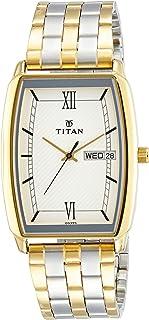 Titan analog White Dial Men's Watch NL1737BM01/NN1737BM01