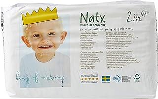 Naty Ecological Diapers, Size Newborn, 4,5Kg, 26 Piezas, Paquete de 4, Total 104 Piezas
