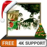 Jingle bells HD gratuito - Festeggia quest'anno di Natale con bellissimi regali di Babbo Natale sulla tua TV HDR 8K 4K e dispositivi di fuoco come sfondo e tema per la de