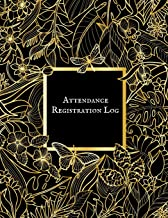 Attendance Registration Log: Simplistic Undated write in & sign in daily/weekly Register organizer | Employee entry Register Record for companies, Business & Entrepreneurs and many more