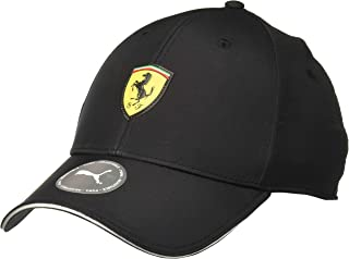 PUMA Mens Ferrari Emblem Cap Black Ones