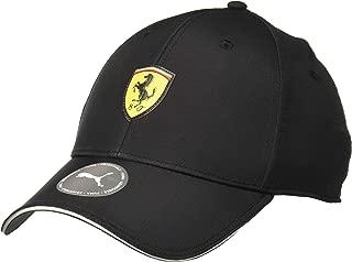Mens Ferrari Emblem Cap Black Ones
