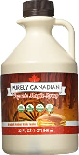 Organic Maple Syrup - 32 Oz. Jug - 100% Pure Canadian Maple Syrup - Small Family Farm Sourced - Grade A: Am...