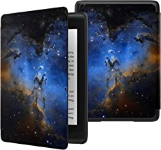 MoKo Case Fits Kindle Paperwhite (10th Generation, 2018 Release), Thinnest Lightest Smart Shell Cover with Auto Wake/Sleep for Amazon Kindle Paperwhite 2018 E-reader - Pillars of Creation Distant View