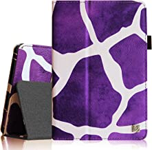 Fintie Premium PU Leather Case Cover for 7 Inch Tablet inclu. iRULU eXpro X1 7, Alldaymall A88X 7, NeuTab N7S Pro 7, Chromo Inc 7, Dragon Touch Y88X 7, NPOLE Tablet 7, Giraffe Purple