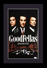 Ray Liotta signed Goodfellas movie poster framed autograph PSA COA Henry Hill