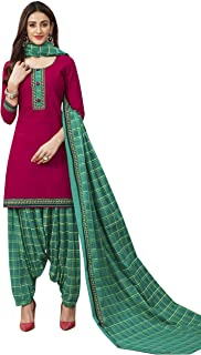 Jevi Prints Women's Cotton Printed Straight Stitched Salwar Suit Set (ND-1934)