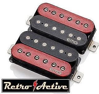 EMG Retro Active Hot 70 Set Red/Black
