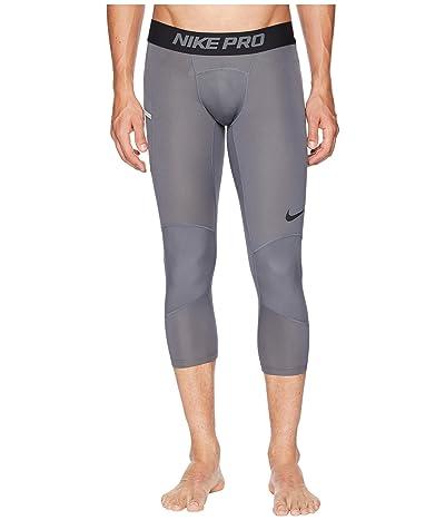 Nike Dry 3/4 Basketball Tights (Dark Grey/Black) Men