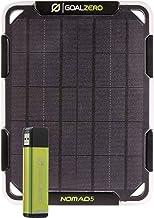 Goal Zero Nomad 5 Watt Solar Panel with Flip 12 (3,350 mAh) Power Bank, Portable Solar Kit