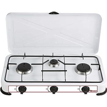 Bianco Taglia Unica MPM smile-kn-03//1/K Cucina a Gas Portatile