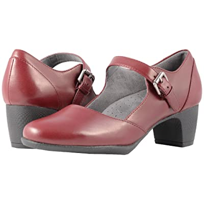 SoftWalk Irish II (Dark Red Professional Leather) Women