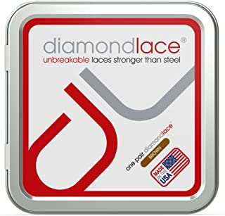 Diamondlace Unbreakable Heavy Duty Hiking Work Boot and Shoe Replacement Laces (1 Pair)