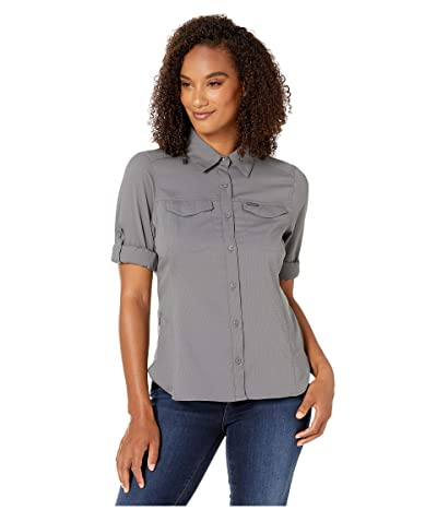 Columbia Silver Ridge Lite Long Sleeve Shirt (City Grey) Women