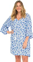 Back From Bali Womens Boho Print Beach Dress Plus Size Loose Fit Tunic Top Swimsuit Cover Up Casual Bohemian