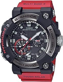 Casio - GWFA1000-1A4 Frogman - Reloj para hombre (56,7 mm), color rojo