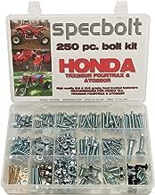 Specbolt Fasteners Brand 250pc Maintenance Restoration OE Spec Motorcycle Bolt Kit for Honda TRX250R Fourtrax ATC250R Quad 3 wheelers TRX ATC 250R