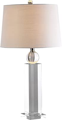 "JONATHAN Y JYL5004A Charlotte 28.5"" Crystal Table Lamp, Clear"