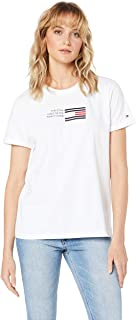 TOMMY HILFIGER Women's Essential Flag Print T-Shirt