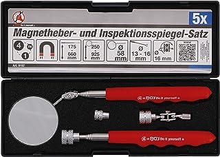 Kraftmann 9197 | Magnetisk lyft- och inspektionsspegelsats | 4 delar
