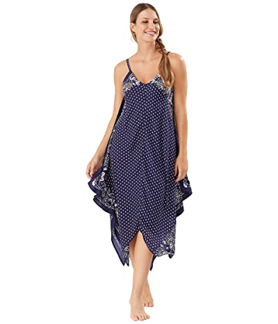 Tommy Bahama Island Scarves Engineered Scarf Dress Cover-Up