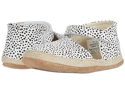 Robeez Kelly Mini Shoez (Infant/Toddler) (Black/White Dot) Girls Shoes