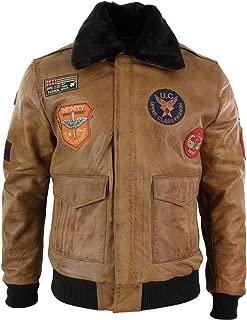 leather flight badge