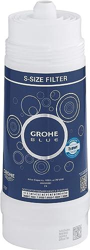 GROHE Blue Accessoires de cuisine, Filtre taille S, 600 litres, BWT filtre de remplacement pour les systèmes GROHE Bl...