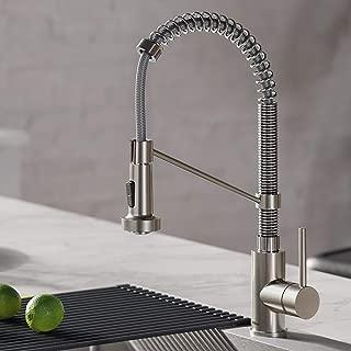 Kraus KPF-1610SSCH Bolden Kitchen Faucet, 18 inch, Stainless Steel/Chrome