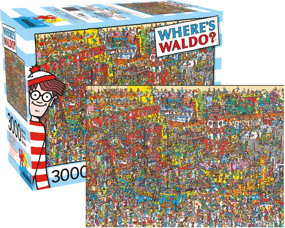 Wally? (Waldo) GIANT jigsaw puzzle